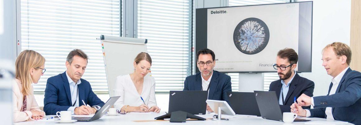 Deloitte restructuring